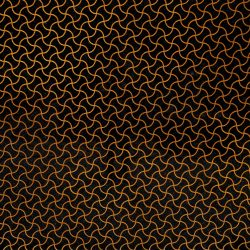 Fantasy Black-Gold Labyrinth